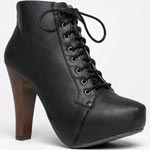 Black Jeffrey Campbell Litas dupes