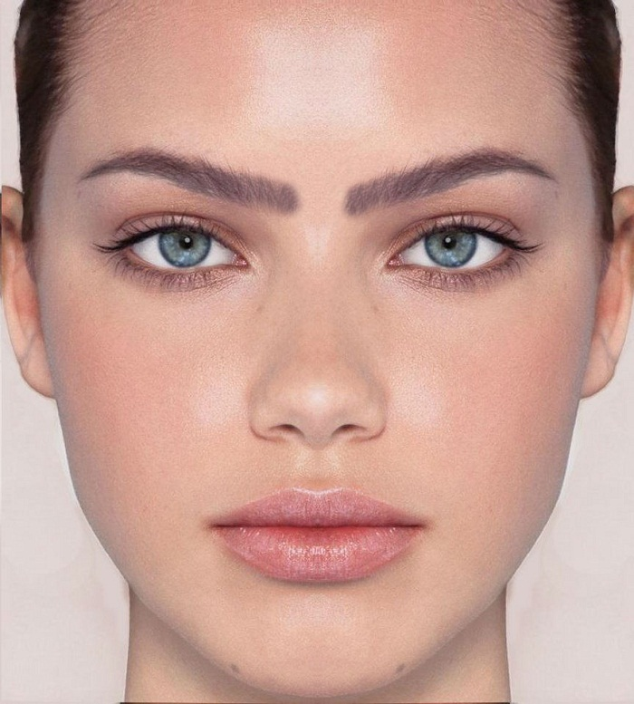 Eyebrow Shapes for Round Faces - Fashion Missy - Fashion Missy