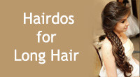 Top 15 cute hairdos for long hair.